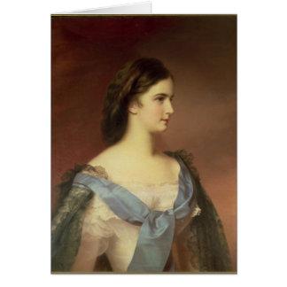 Kaiserin Elizabeth von Bayern als jungen Frau Karte