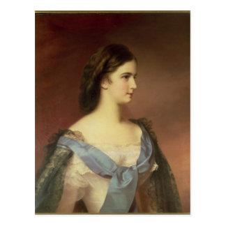 Kaiserin Elizabeth von Bayern als jungen Frau Postkarte