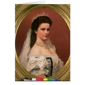 Kaiserin Elizabeth von Bayern auf Ungarn Karte