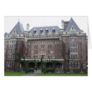 Kaiserin-Hotel Karte