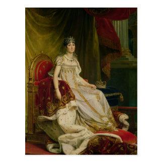 Kaiserin Josephine 1808 Postkarte