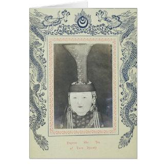 Kaiserin sie Tsu der Yuan-Dynastie Karte