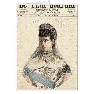 Kaiserin von Russland Karte