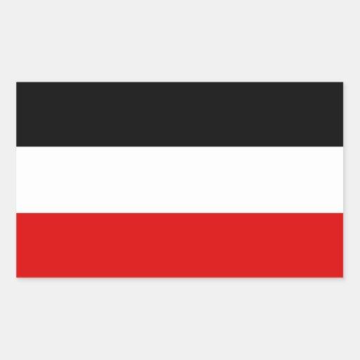 Kaiserliche deutsche Flagge Stickers
