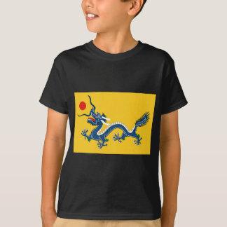 Kaiserliche gelbe Drache-Flagge, Qing Dynastie T-Shirt