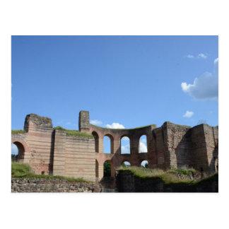 Kaiserliche römische Bäder Postkarte