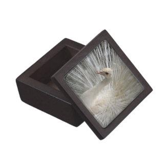 Kaiserlicher weißer Pfau Kiste