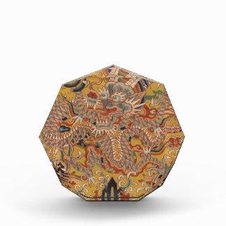 KaiserMing asiatische chinesische Drache-Kunst Acryl Auszeichnung