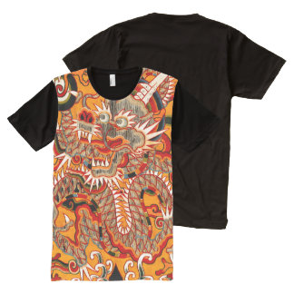 KaiserMing chinesischer Drache-Grafik-T - Shirt