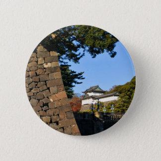 Kaiserpalast in Tokyo, Japan Runder Button 5,1 Cm