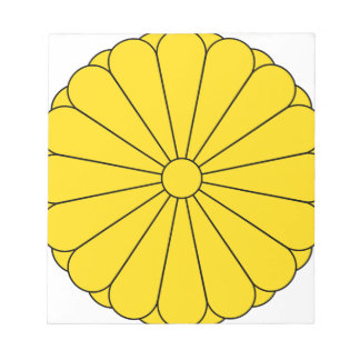 KaiserSiegel von Japan - 菊花紋章 Notizblock