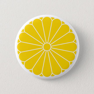 KaiserSiegel von Japan - Knopf Runder Button 5,7 Cm