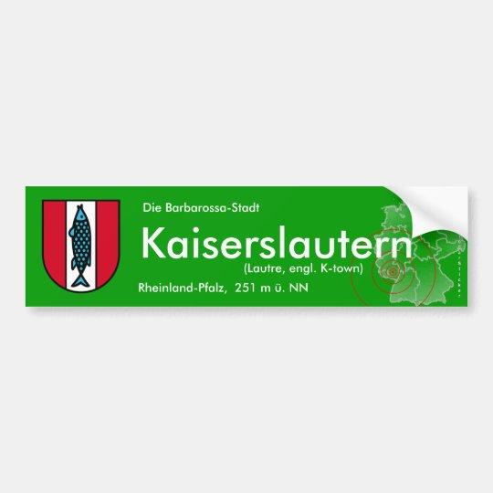 Kaiserslautern 4 autoaufkleber