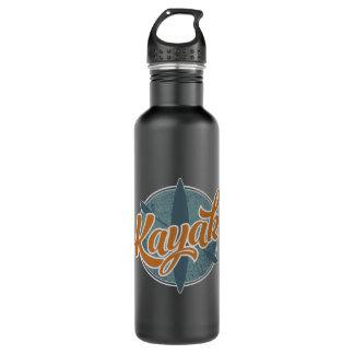 Kajak-Emblem Trinkflaschen
