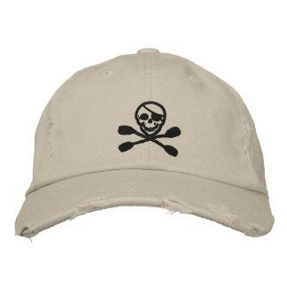 Kajak-Paddel-Piraten-Kappe Bestickte Kappe