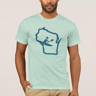 Kajak Wisconsin - Kayaking T - Shirt