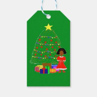 Kakao-Süsse-Weihnachten Baum-Grün Geschenkanhänger