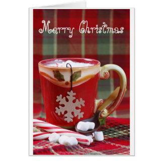 Kakao-Weihnachten Karte
