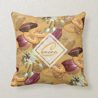 Kakaobohnen, Schokoladen-Blumen, die Geschenke der Kissen