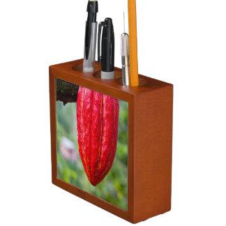 Kakaohülsenrot Stifthalter