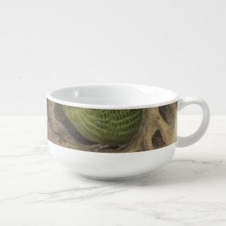Kakapo Halb-Abstrakt Große Suppentasse