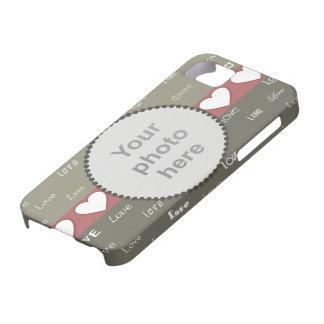 Kakifarbige u. olivgrüne kundenspezifische etui fürs iPhone 5