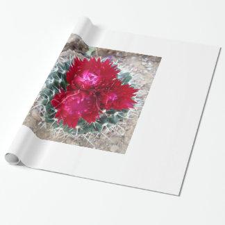 Kaktus-Blüten-Packpapier Geschenkpapier