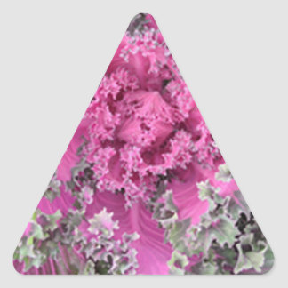 Kaktus Dreieckiger Aufkleber