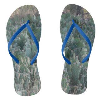 Kaktus-Flecken Flip Flops