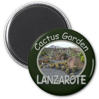 Kaktus-Gartenmagnet Runder Magnet 5,1 Cm