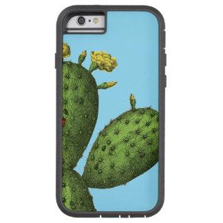 Kaktus mit gelben Blumen Tough Xtreme iPhone 6 Hülle