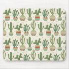 Kaktus-Muster SüdwestGeo-Schritt-| Mousepad