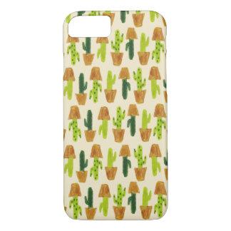 Kaktus-Muster-Telefon-Kasten iPhone 8/7 Hülle