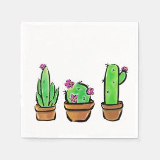 Kaktus Papierserviette