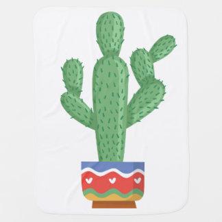 Kaktus-Pflanzen-Blumen-Entwurfskunst Puckdecke
