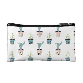 Kaktus-Pflanzen-Muster Makeup-Tasche