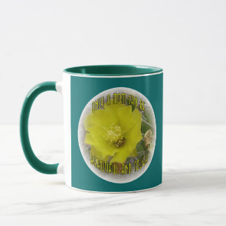 Kaktus-Rose der Mamma-#1 Tasse