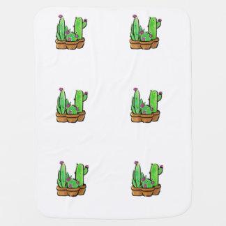 Kaktusfreude Babydecke