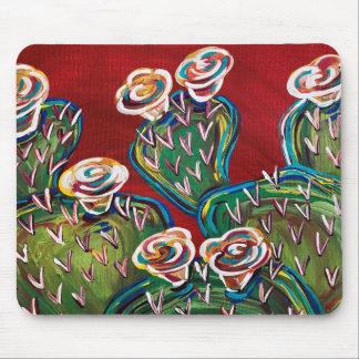 KaktusMausunterlage, hübscher Kaktus, hübscher Mousepad