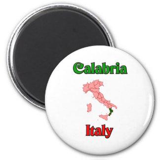 Kalabrien Italien Runder Magnet 5,1 Cm