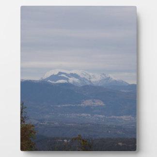 Kalabrien-Winter-Landschaft Fotoplatte