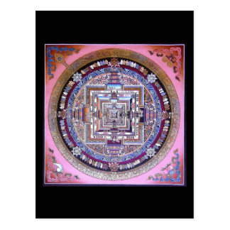 Kalachakra Mandala Postkarte