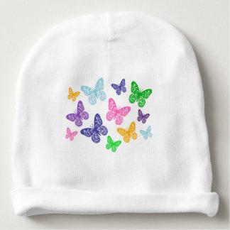Kaleidoskop der Schmetterlinge - BabyBeanie Babymütze