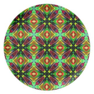 Kaleidoskop-Entwurf Party Teller