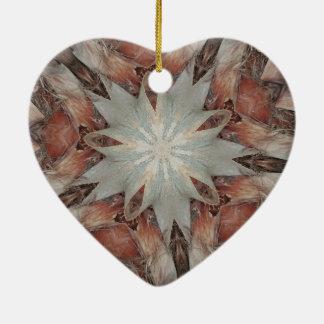 Kaleidoskop-Entwurfs-Stern vom Stamm der Palme Keramik Ornament