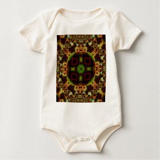 Kaleidoskop-Fraktal 557 Baby Strampler