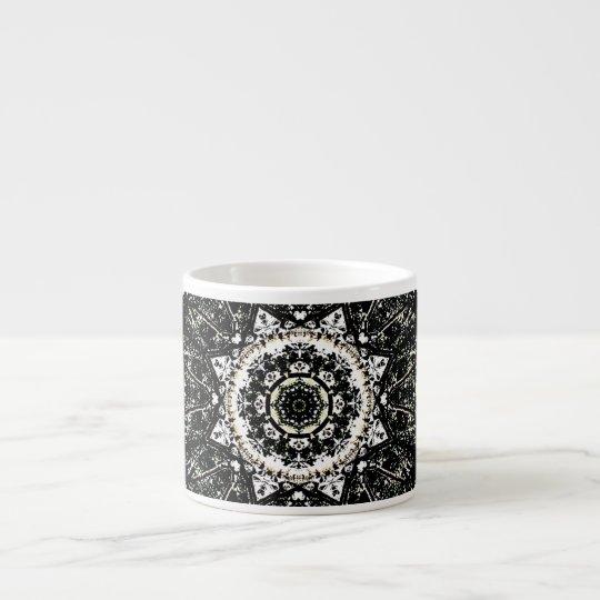 Kaleidoskop gotisch espressotasse