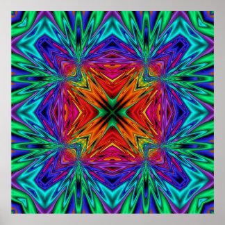 Kaleidoskop Kreations blinkendes Poster