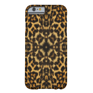 Kaleidoskop-Leopard-Pelz-Muster iphone 6 Fall Barely There iPhone 6 Hülle