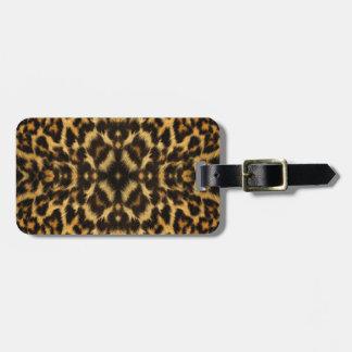 Kaleidoskop-Leopard-Pelz-Muster Kofferanhänger